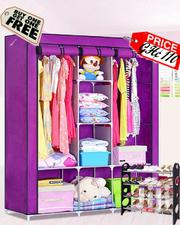 Purple Foldable Portable Wardrobe | Furniture for sale in Greater Accra, Kotobabi