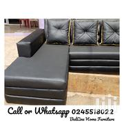 L Shape Turkish Sofa ❤️❤️❤️🖤 | Furniture for sale in Greater Accra, Asylum Down