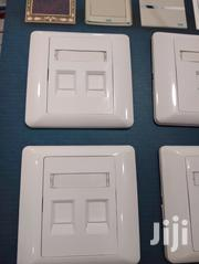 Double Faceplate With Cat6 Keystone Jack | Computer Accessories  for sale in Greater Accra, Dzorwulu
