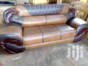Leather Set Avaialble At An Affordable Price | Furniture for sale in Greater Accra, North Dzorwulu