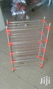 Shoe Rack Made Of Quality Big Pipes | Furniture for sale in Greater Accra, Agbogbloshie