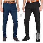 2-Piece Khaki Trousers - Black/Dark Blue | Clothing for sale in Greater Accra, Dzorwulu