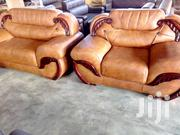 Leather Set Readily Avaialble | Furniture for sale in Greater Accra, North Kaneshie