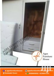 Double Bed With 2in1 Wardrobe Fpr Sell | Furniture for sale in Greater Accra, Apenkwa