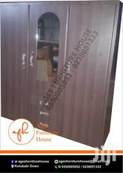 Family Wardrobe in Deep Cofe Color Avaialble | Furniture for sale in Greater Accra, Ga South Municipal