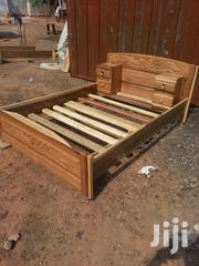 Quality Wooden Double Bed. | Furniture for sale in Greater Accra, Kanda Estate