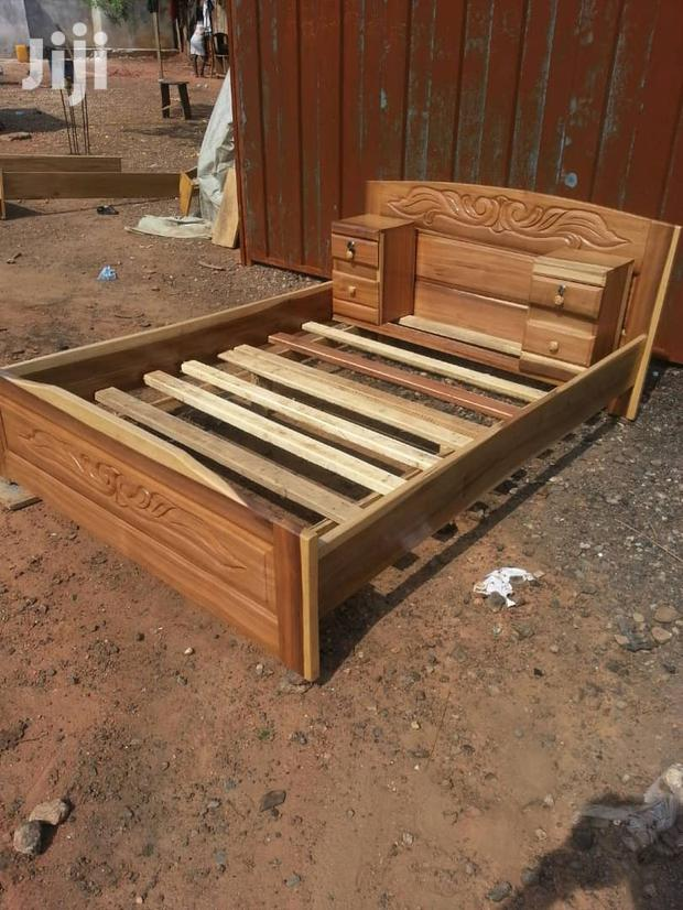 Quality Wooden Double Bed.
