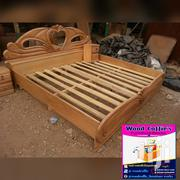 Wooden Queen Size Bed | Furniture for sale in Ashanti, Kumasi Metropolitan