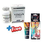 Vimax Penis Enlargement Capsules + Ultra Foam Penis Enlarging Cream | Sexual Wellness for sale in Greater Accra, Accra Metropolitan