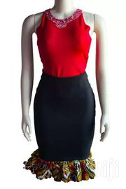 African Designed Peplum Skirt | Clothing for sale in Greater Accra, Teshie new Town