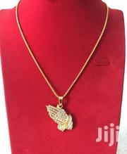 Praying Hands Pendant Necklace | Jewelry for sale in Greater Accra, Teshie-Nungua Estates
