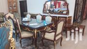 11 Piece Bumiro Dining Set PLUS Buffet And Mirror | Kitchen & Dining for sale in Greater Accra, Accra Metropolitan