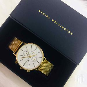 Daniel Wellington Gold Watch