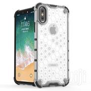 Honeycomb Transparent Armor Case for iPhone Xsmax Xr Xs X 8plus 7plus | Accessories for Mobile Phones & Tablets for sale in Greater Accra, Ga West Municipal