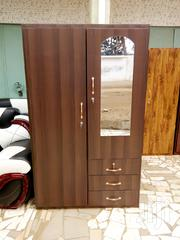 Lovely Double Door Wardrobe Free Delivery | Furniture for sale in Greater Accra, Adabraka
