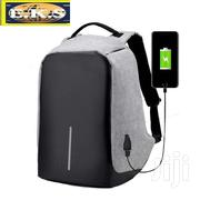 Grey Anti-Theft Waterproof With USB Backpack | Bags for sale in Western Region, Shama Ahanta East Metropolitan