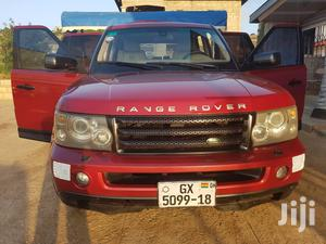 Land Rover Range Rover Sport 2006 Red