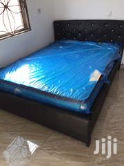 Modernize Leather Bed at a Cool Price. | Furniture for sale in Greater Accra, Teshie new Town