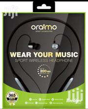 Oraimo Neckband Bluetooth Earpiece | Accessories for Mobile Phones & Tablets for sale in Greater Accra, South Kaneshie