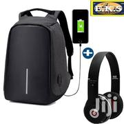 Black Durable Anti-Theft Laptop Bag With Headphone | Bags for sale in Western Region, Shama Ahanta East Metropolitan