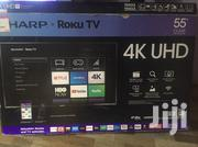 "55"" Sharp Roku TV 4K 