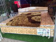 Nice Quality Queen-Size Bed (Inbuilt Mattress) | Furniture for sale in Greater Accra, Accra Metropolitan