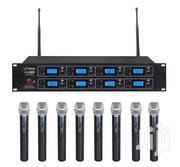 8 In 1 Cordless Microphone For Sale | Audio & Music Equipment for sale in Greater Accra, Adenta Municipal