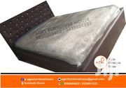 Quality Cofé Leather Bed With Matress for Sell Pls. | Furniture for sale in Greater Accra, Dansoman