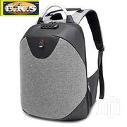Gray Oxford Anti Theft Laptop Backpack | Bags for sale in Western Region, Shama Ahanta East Metropolitan