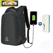 Black Anti-Theft Laptop Bag + Powerbank Usb Port | Bags for sale in Western Region, Shama Ahanta East Metropolitan