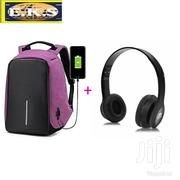 Purple Anti-Theft Laptop Bag + Free Headset | Bags for sale in Western Region, Shama Ahanta East Metropolitan