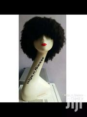 Brazilian Afro Curls Fringe Wig | Hair Beauty for sale in Greater Accra, Nungua East
