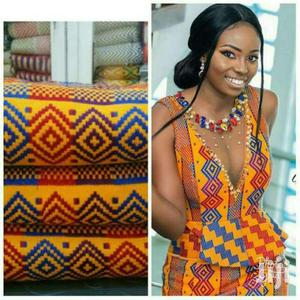 It's All About Latest And Quality Bonwire Kente Cloth.