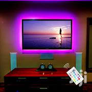 24 Keys Remote Control RGB LED Strip Light USB Powered TV Backlight | TV & DVD Equipment for sale in Greater Accra, Ga West Municipal