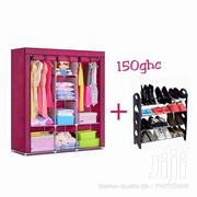 3in1 Wardrobe + Shoe Rack Promo | Furniture for sale in Greater Accra, Accra Metropolitan