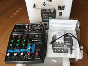 4 Channel Mixer/Sound Card For Sale | Musical Instruments for sale in Greater Accra, Ga West Municipal