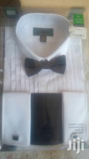 Original American Tuxedo Shirt With Cufflinks, Bow Tie, And Cummerbund | Clothing for sale in Greater Accra, Accra Metropolitan