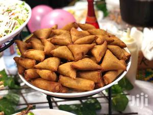 Special Spring Rolls And Samosas