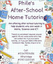 Phile's After-school Home Tutoring | Classes & Courses for sale in Greater Accra, Achimota
