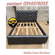 Turkish Dark Leather Bed ❤️❤️❤️🖤 | Furniture for sale in Greater Accra, Asylum Down