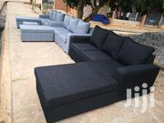 Italian L Shape Sofa Free Delivery ❤️ ❤️ ❤️ 💖 💖 | Furniture for sale in Greater Accra, Adenta Municipal