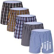 Plaid Boxer Shorts - 3 Pack - Multicolour | Clothing for sale in Greater Accra, Accra Metropolitan