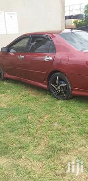 Toyota Corolla 2007 1.4 D-4D Automatic Red   Cars for sale in Greater Accra, Tema Metropolitan