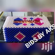 Beaded Tissue Box | Kitchen & Dining for sale in Greater Accra, Osu