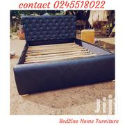 Black Socolate Design Us Bed | Furniture for sale in Greater Accra, Mataheko