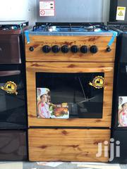 Volcano Wooden Coated 50x50 4 Burner Gas Cooker With Oven and Grill | Kitchen Appliances for sale in Greater Accra, Accra Metropolitan