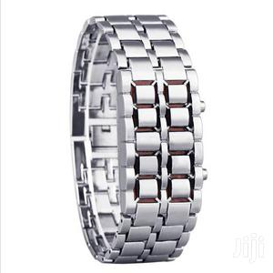 Digital LED Stainless Steel Watches