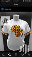 Unisex African Print With Kente and GTP, Woodin Cloth | Clothing for sale in Odorkor, Greater Accra, Ghana