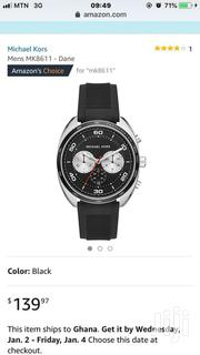 Micheal Kors Men Silicone Strap Watch | Watches for sale in Greater Accra, Abelemkpe
