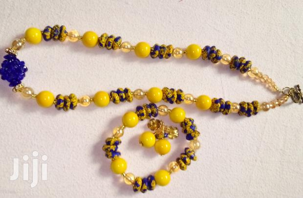 Archive: Beaded Jewelry Set. Made With Quality Local Beads.